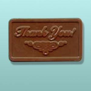 Chocolate Thank You Mini Card Favor