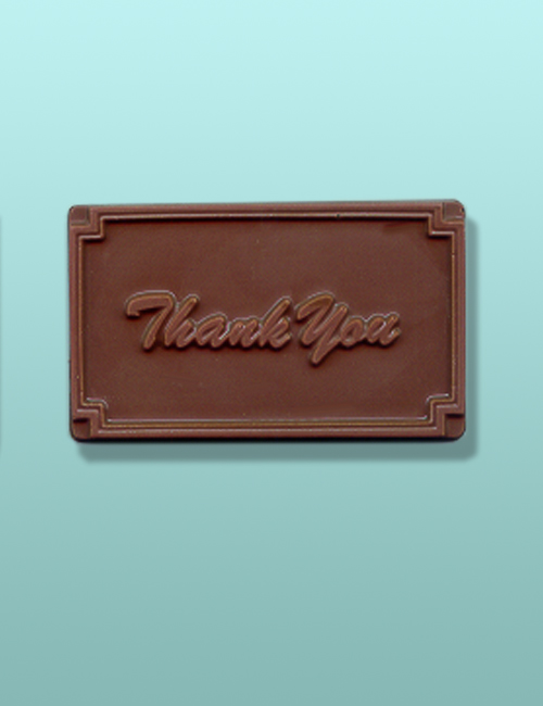 Thank You Chocolate Card Party Favor