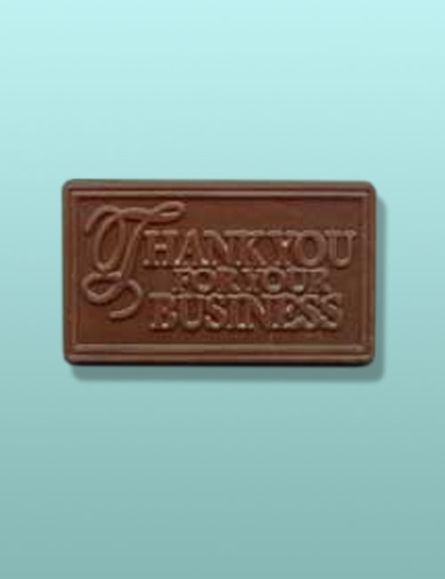 Thank You for Your Business Choco Card