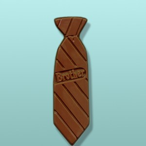 Chocolate Tie Favor - Brother