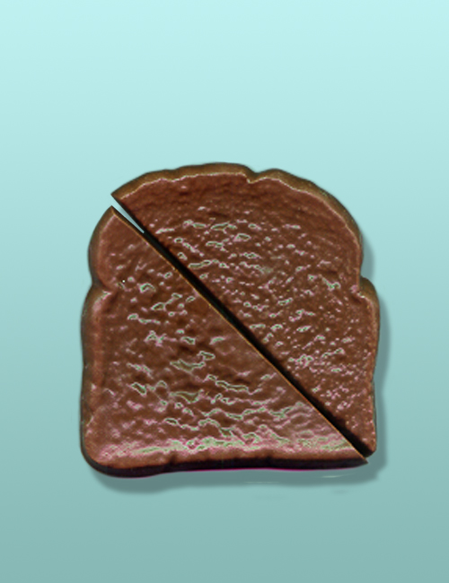 Chocolate Sliced Toast Party Favor