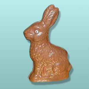 Chocolate Traditional Easter Bunny - Small
