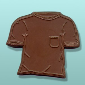 Chocolate Short Sleeve Pocket T-Shirt