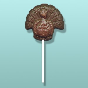 Chocolate Thanksgiving Turkey Party Favor