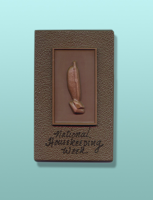 Chocolate Vacuum Housekeeping Plaque
