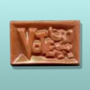 Chocolate Elephant Vote Rectangular Favor