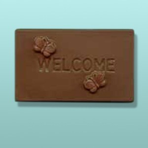 Chocolate Welcome Mini Card Favor