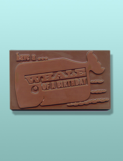 Whale of a Birthday Chocolate Card