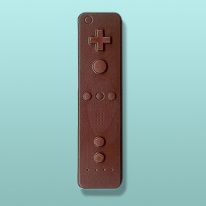 Chocolate Wii Remote Video Game Controller