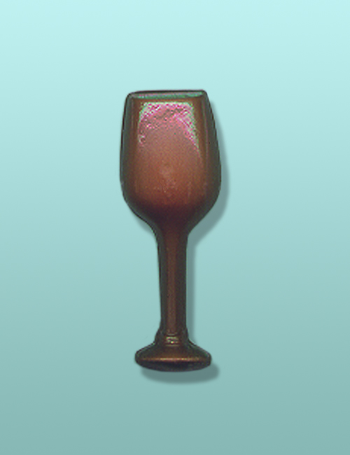 Chocolate Wine Glass Party Favor