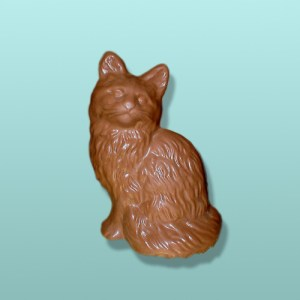 3D Chocolate Cute Kitty X-Large