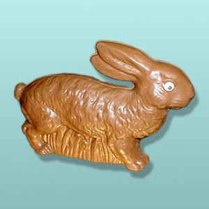 3D Chocolate Backyard Bunny