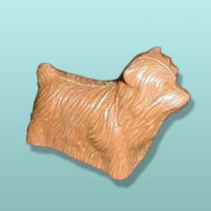 3D Chocolate Yorkshire Terrier Small Dog