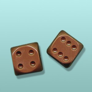2 pc. Chocolate Double Dice Favor