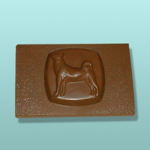 CHOCOLATE AKITA DOG FAVORS