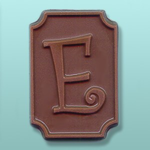 Chocolate Alphabet Letter Script Favor