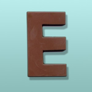 Chocolate Alphabet Letter #3 Party Favor