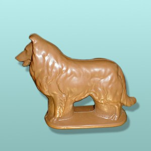 CHOCOLATE COLLIE DOG FAVORS
