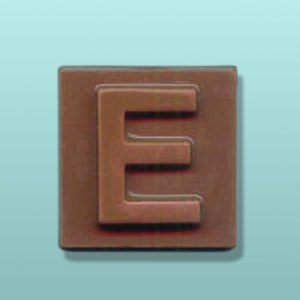 Chocolate Alphabet Letter Square Favor