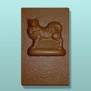 CHOCOLATE SAMOYED DOG FAVORS