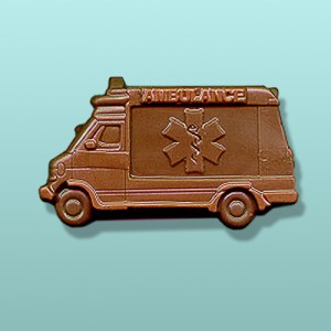 CHOCOLATE EMERGENCY VEHICLES