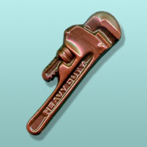 Chocolate Pipe Wrench Favor