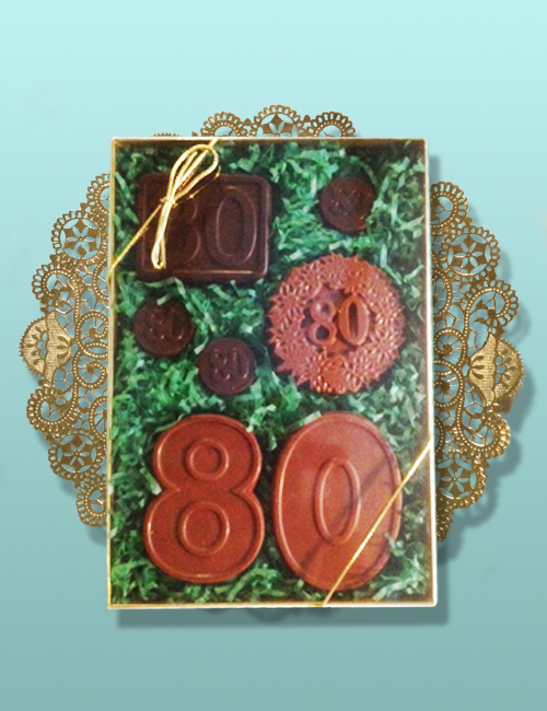 Chocolate Numbers Gift Set