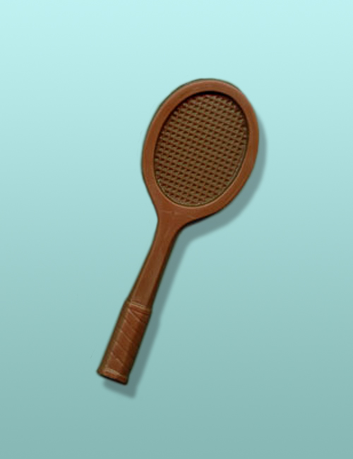 Chocolate Tennis Racket Party Favor