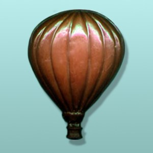 Chocolate Hot Air Balloon Large Favor