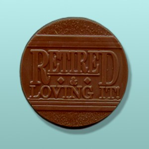 CHOCOLATE RETIREMENT FAVORS