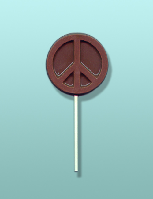 Chocolate Peace Sign Party Favor