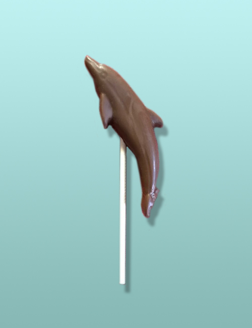 Chocolate Dolphin Flying Favor