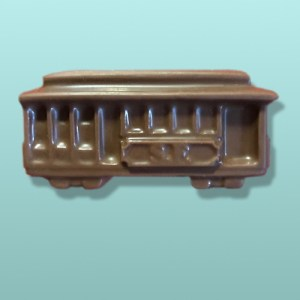 Chocolate Trolley Car Medium Favor