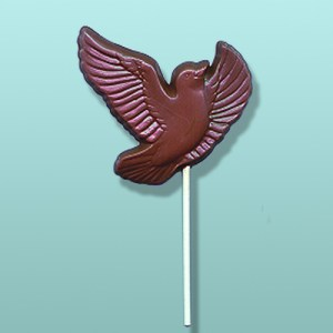 Chocolate Dove in Flight Favor