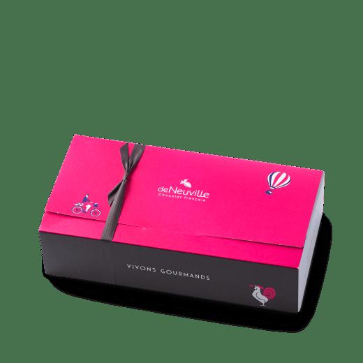 ballotin_chocolats_coffret de chocolats_deNeuville nantes_chocolatier_savoir-faure français_gourmand