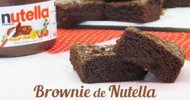 Bolo Recheado de Chocolate e Nutella - Receitas ChocoMeUp!
