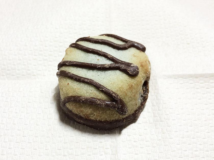 クッキーもミントグリーン色