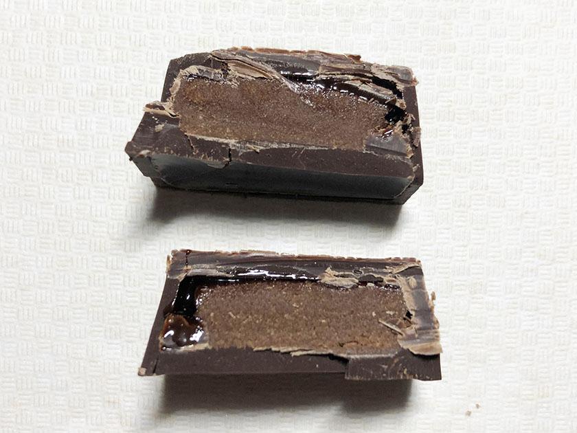 チョコソース入り