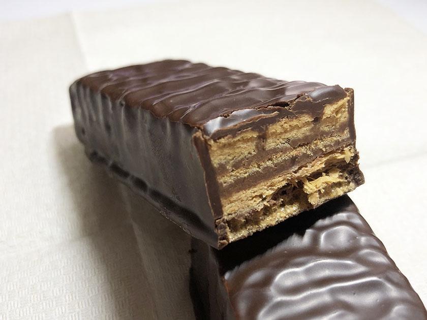 チョコクリームたっぷり