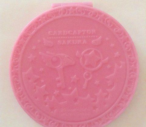 さくらカード柄ミラー裏面(ピンク)