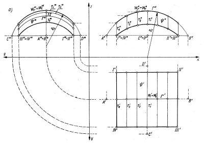 . Konstrukcje geometryczne dla powierzchni translacyjnej utworzonej z okręgów