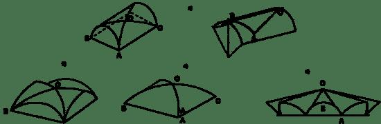 """Rys.5 Przekroje i sklejenia sklepień cylindrycznych [zotpressInText item=""""4KPR9HVN""""] [10]"""