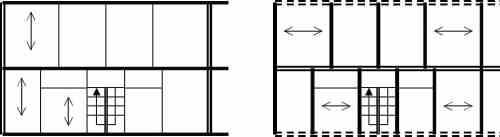 Układy ścianowe: podłużne, poprzeczne, krzyżowe, mieszane