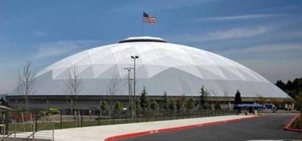 Rys 5. Największa drewniana kopuła -Tacoma Dome, Takoma, Waszyngton, Stany Zjednoczone. Rys.5.