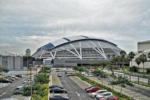 Rys. 7 Stadion Narodowy w Singapurze (2014). Projekt Arup (2007) [B???]