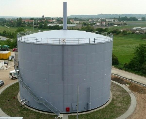 Zbiornik cylindryczny pionowy