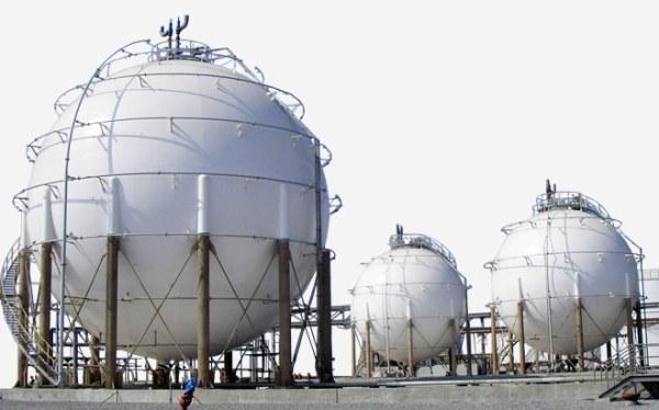 Kuliste zbiorniki na gaz