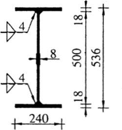 Ry.22 Przekrój balchownicy do przykładu