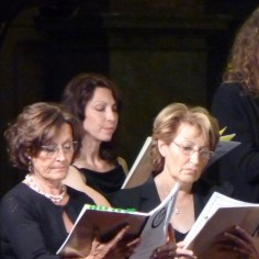 Quatuor de sopranos, en concert, 2014