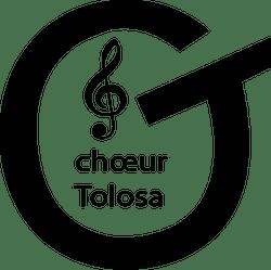 Logo Choeur Tolosa noir